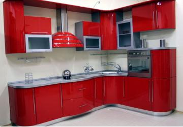 Кухня Красная вишня