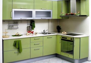 Кухня Зеленый май