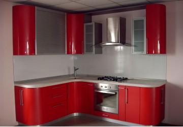 Кухня Красный закат