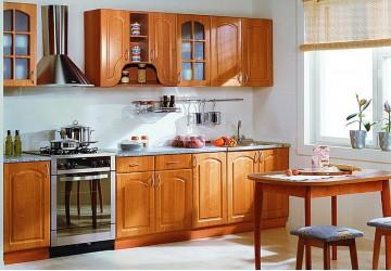 Кухня Мандариновый цвет